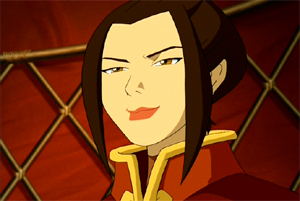 zuko's sister, azula