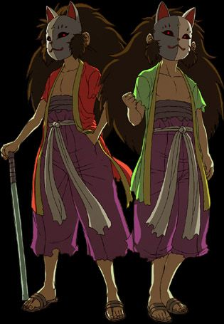 The twins from Kakurenbo, Immu and Yanku