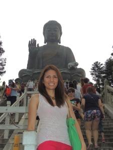 Tian Tan Buddha in Lantau Island (Hong Kong)