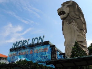 Merlion Statue in Sentosa, Singapore